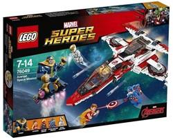 Lego  Super Heroes set Avenjet Ruimtemissie 76049