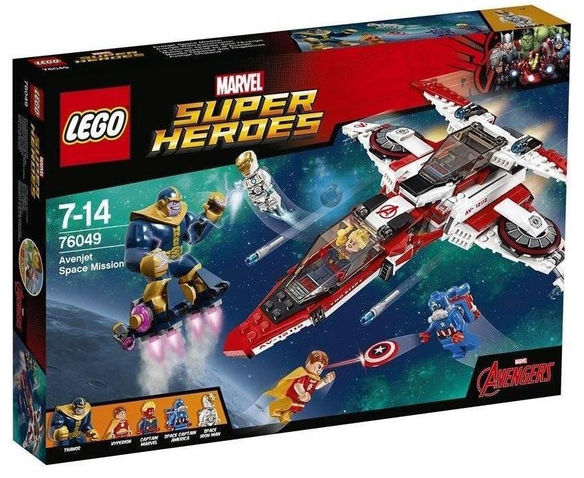 Lego Super Heroes set Avenjet Ruimtemissie