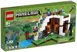 Lego  Minecraft set De watervalbasis (21134)
