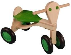 Van Dijk Toys loopfiets Limoengroen - Berken