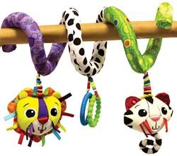 Lamaze  box en maxi cosi speelgoed Buigzame activiteiten spiraal