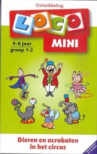 Loco Mini pakket Dieren en acrobaten in het circus. 4 - 6 jaar