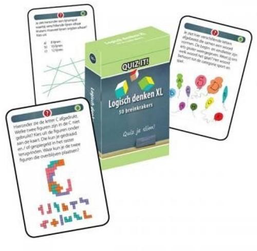 Schoolsupport leerkaarten Quiz it! IQ training XL