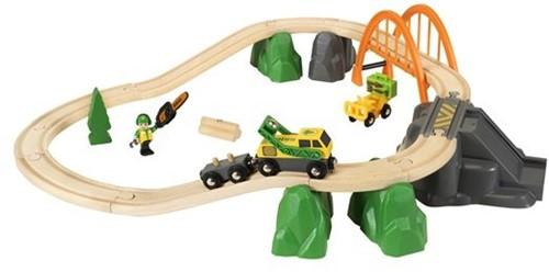 BRIO trein Treinset boswerker 33789-3