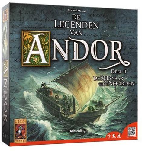 999 Games spel De Legenden van Andor: De Reis naar het Noorden