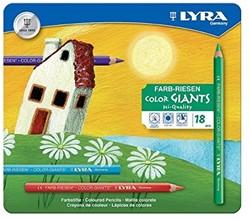 Lyra  teken en verfspullen Metalletui M18