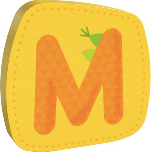 Houten letter M