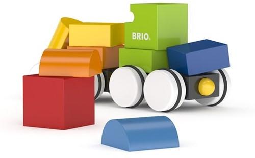 Brio  houten bouwblokken Magnetic train 30245-2