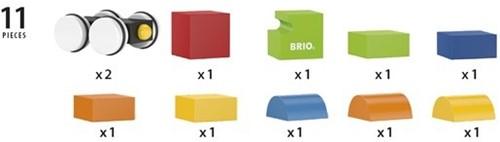 Brio  houten bouwblokken Magnetic train 30245-3
