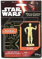 Metal Earth  - constructie speelgoed - Star Wars C-3PO GOLD-2