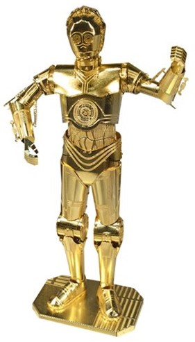 Metal Earth Star Wars C-3PO GOLD
