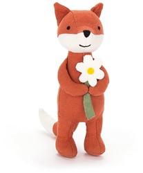 Jellycat knuffel Mini Messenger Fox -16cm