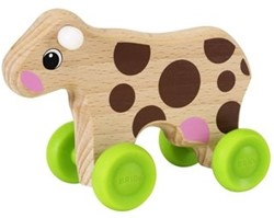 Brio  houten leerspel Mini Cow 30309