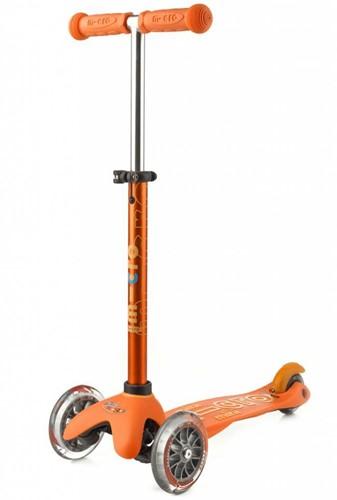 Micro Mini step Deluxe Oranje