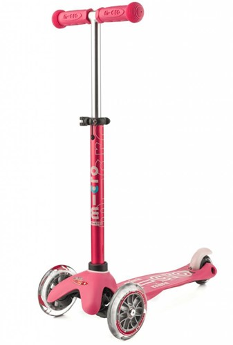 Micro Mini step Deluxe Roze