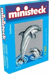 Ministeck  knutselspullen - Dolfijn 1100 stukjes