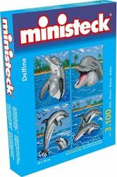 Ministeck  knutselspullen Dolfijn 4 in 1 3100 stukjes