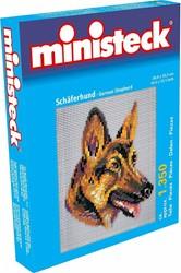Ministeck Duitse herdershond - 1350 stukjes
