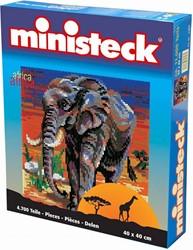 Ministeck  knutselspullen Olifant 4700 stukjes