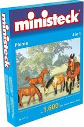 Ministeck  knutselspullen Paard 4 in 1 1600 stukjes
