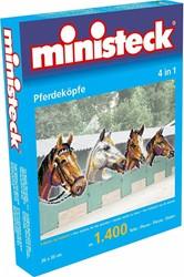 Ministeck  knutselspullen Paardenhoofden 4in1 1400 stukje