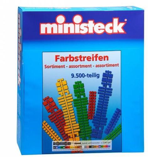 Ministeck Kleurenstrips assortiment - 9500 stukjes