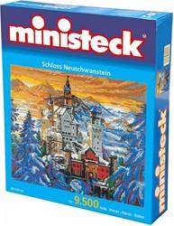 Ministeck  knutselspullen Slot Neuschwanstein 9500 stuk