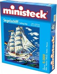 Ministeck  knutselspullen Ministeck - Zeilship 5000 stukjes
