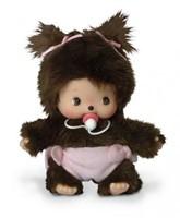 Monchhichi  knuffelpop Baby meisje - 16 cm-1
