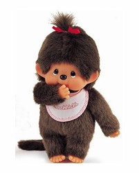 Monchhichi  knuffelpop Classic Girl - 24 cm