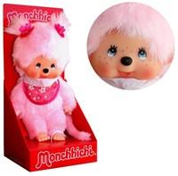 Monchhichi  knuffelpop Meisje Cherry Blossom roze - 20 cm-2