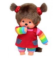 Monchhichi  knuffelpop Regenboog meisje - 20 cm-1