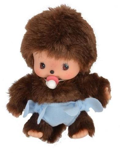Monchhichi  knuffelpop Baby jongen - 16 cm-1