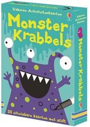 Usborne activiteitenkaarten Monster krabbels