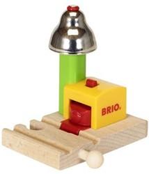 Brio  houten trein accessoire My First Railway Bell Signal 33707