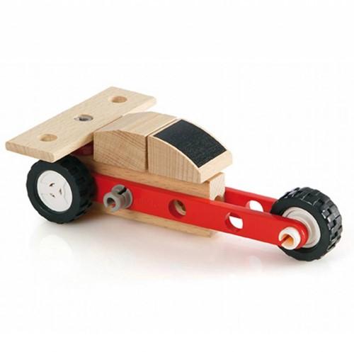 Brio  houten constructie speelgoed Builder Mini Dragster 34559-3