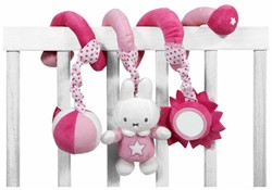 Nijntje  box en maxi cosi speelgoed Roze spiraal