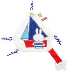 Nijntje  knuffeldoekje Sailor boot baluw