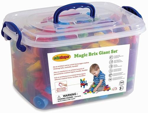 Edushape Magic Brix Giant Set 360 pc