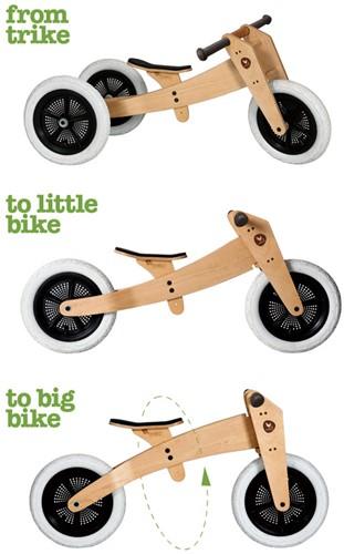 Wishbonebike  houten loopfiets 3 in 1 bike hout-2