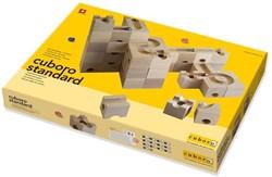 Cuboro  houten knikkerbaan set standaard