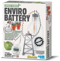 4M Green Science wetenschapsdoos Enviro Battery