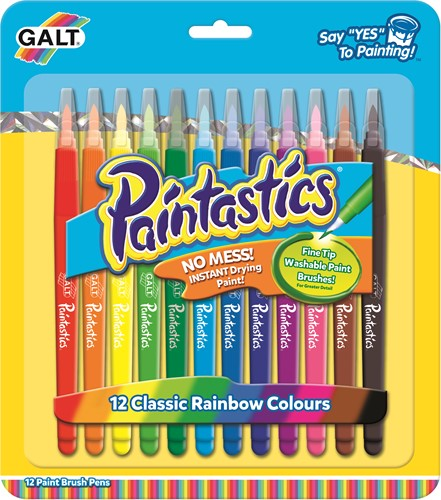 Galt Young Art - Paintastics - 12 Classic Colours
