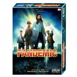 Z-man Games coörperatief bordpel Pandemic NL
