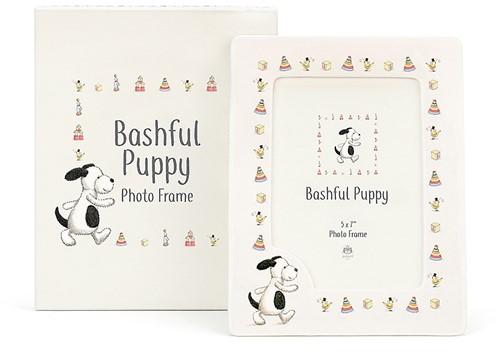 Jellycat Bashful Puppy Keramiek Fotolijst