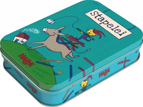 HABA Spel - Stapelezel (Duitse verpakking met Nederlandse handleiding)-1