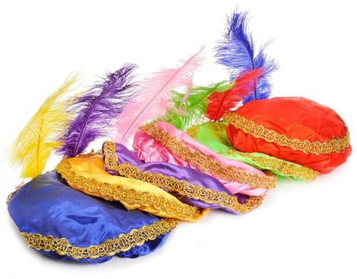 Planet Happy  verkleedspullen Zwarte Piet baret