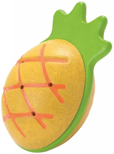 Plan Toys  houten muziekinstrument Pineapple Maraca