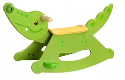 Plan Toys  houten kindermeubel Rocking Alligator 3609