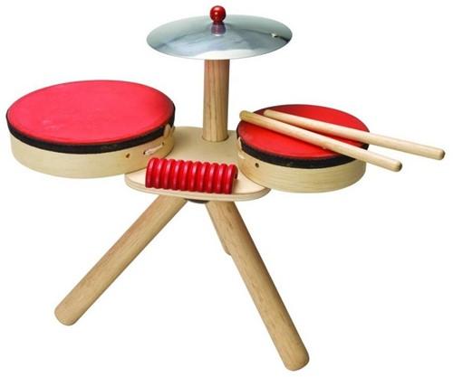 Plan Toys muziekinstrument drumstel